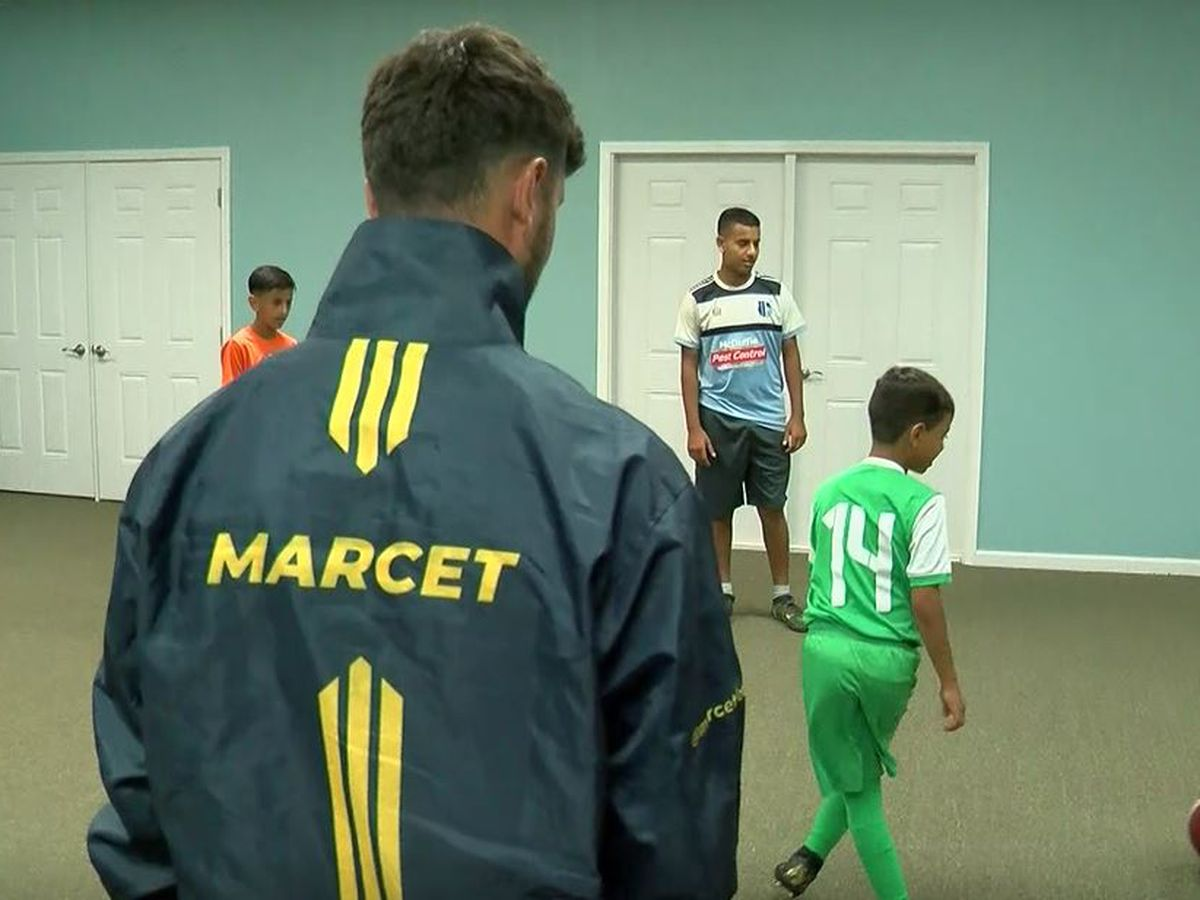 Barcelona-based soccer academy makes stop in NMB to train local players