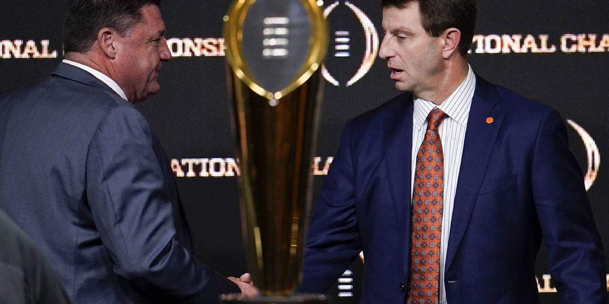 Dabo Dynasty: Clemson can join elite company with win vs LSU