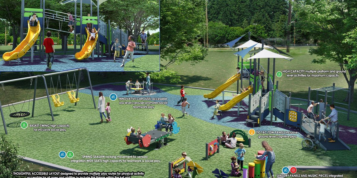 Conway city leaders hope construction begins on proposed inclusive playground this summer