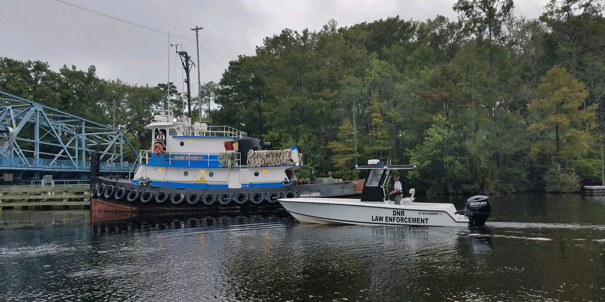 DNR officers conduct river sweeps before Hurricane Dorian