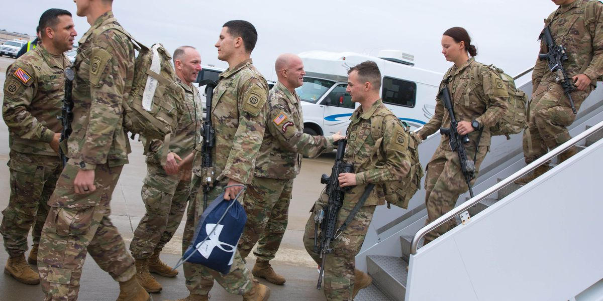 N.C. soldiers return home from sudden Middle East deployment
