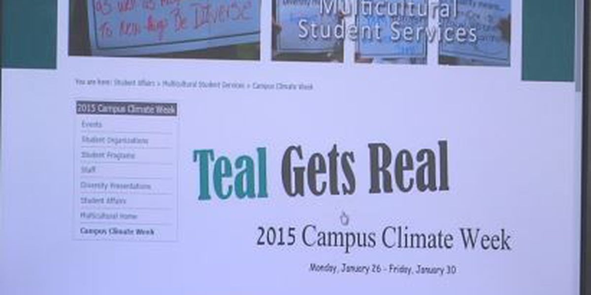 CCU's #TealGetsReal survey underway to learn about discrimination, sexual violence on campus