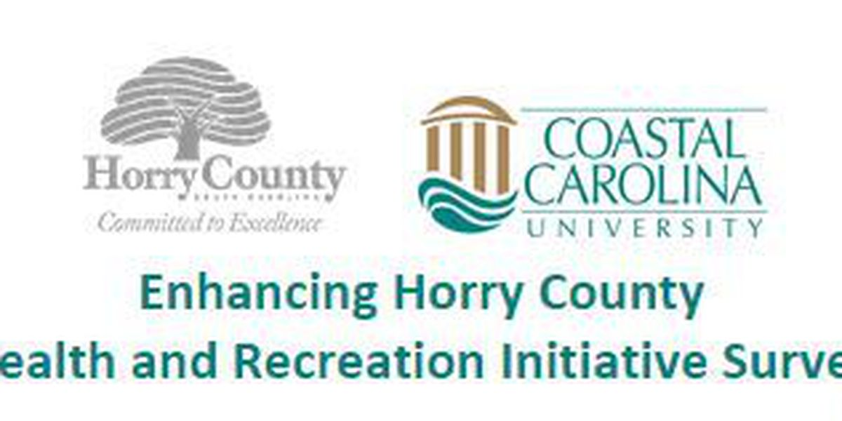 Horry County offers survey for health, recreation initiative