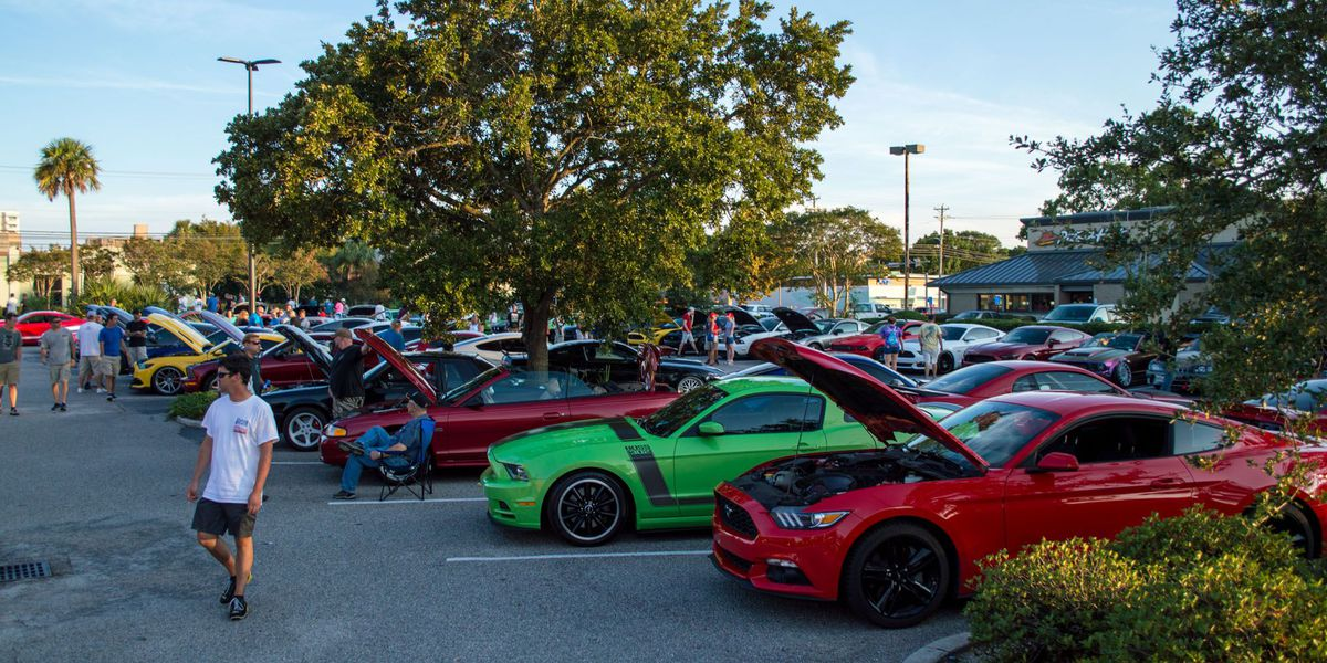 Mustang Week In Myrtle Beach Ends With Car Shows