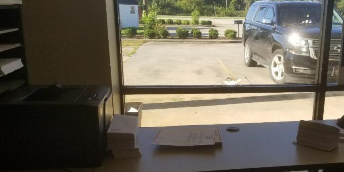SCGOP says someone shot bullet into window of office in Lancaster Co.