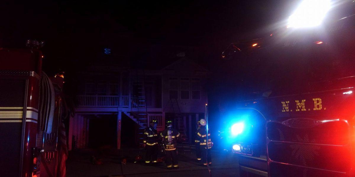 Lightning strike causes North Myrtle Beach house fire