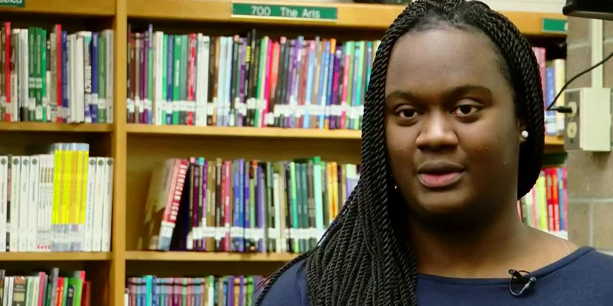 Conway High senior gives first place speech on college affordability