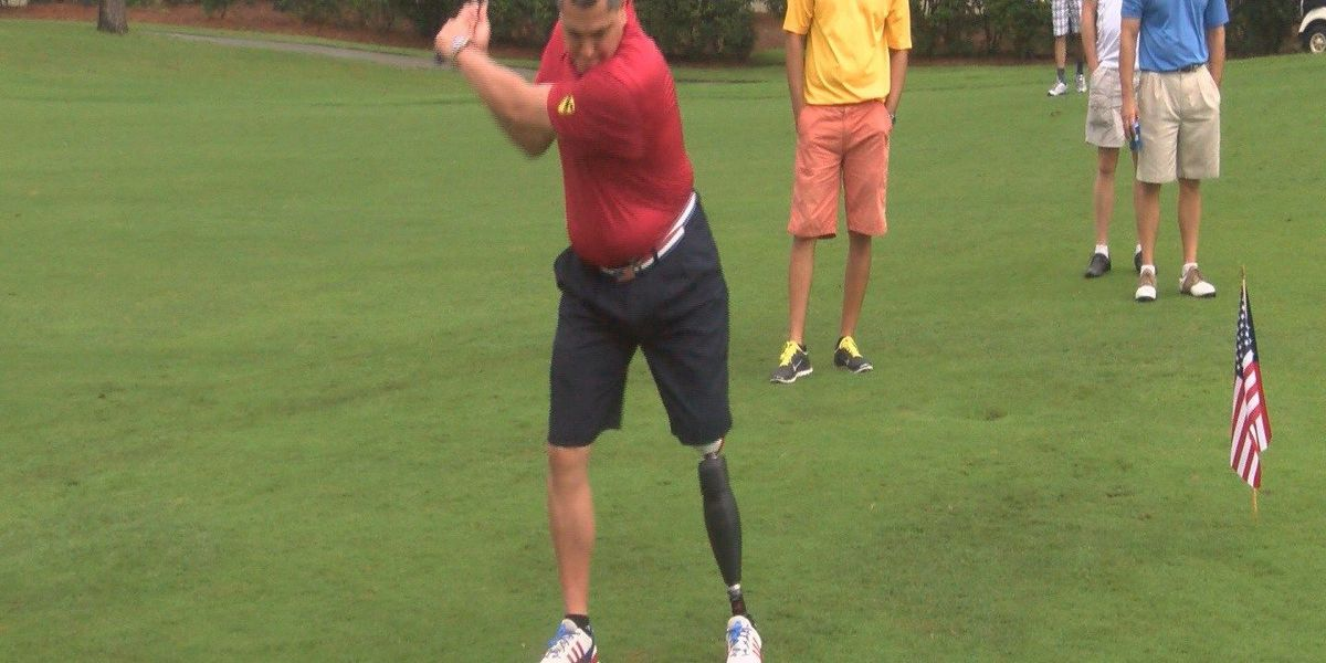 Local golfers give back to American service men and women