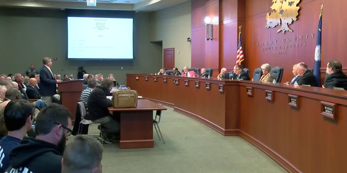 Horry County Council calls meeting to discuss administrator's contract, funding for I-73