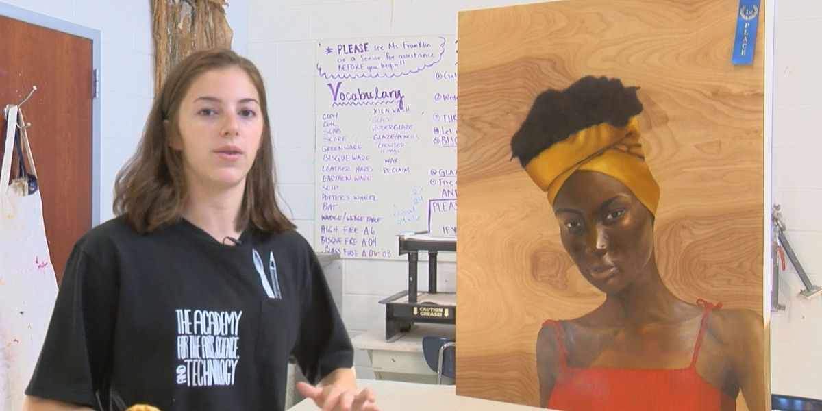 Student Spotlight: High school student hopes to inspire others through artwork