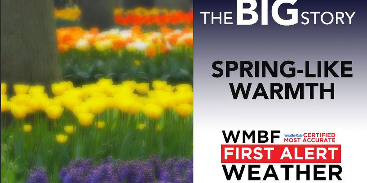 FIRST ALERT: Spring-like warmth continues