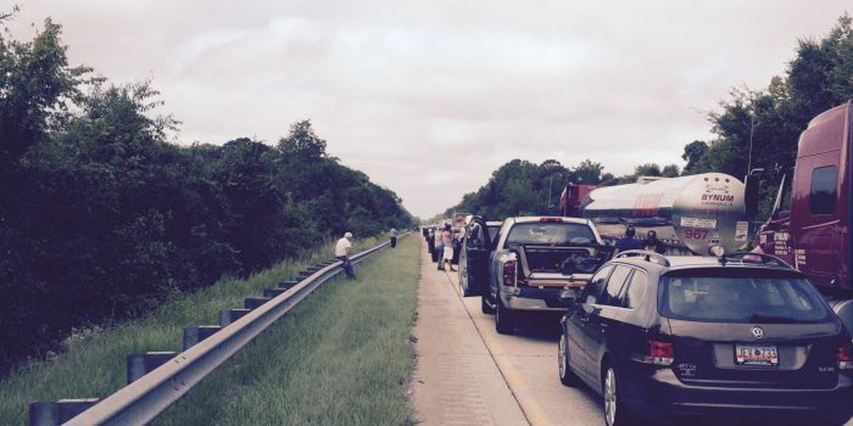 Motorcycle accident causes traffic backup on I-95 near Florence