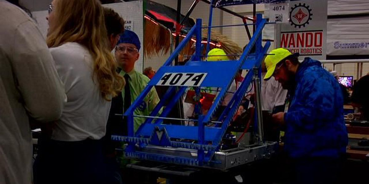 Regional robotics competition shaping the future of students