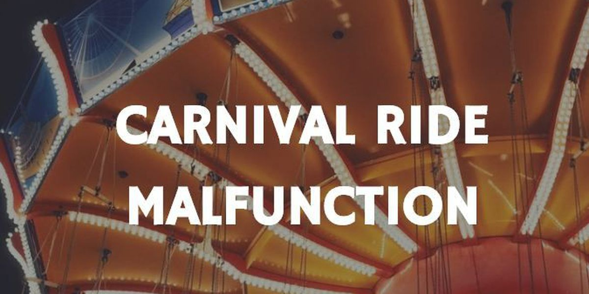 4 people rescued from malfunctioning carnival ride in Red Springs