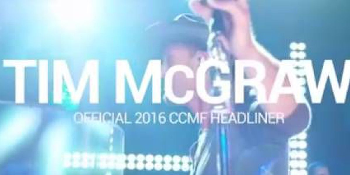 Keith Urban to perform at Carolina Country Music Fest 2016