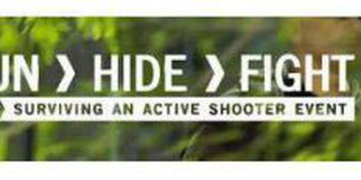 Police offer active shooter situation training courses in January