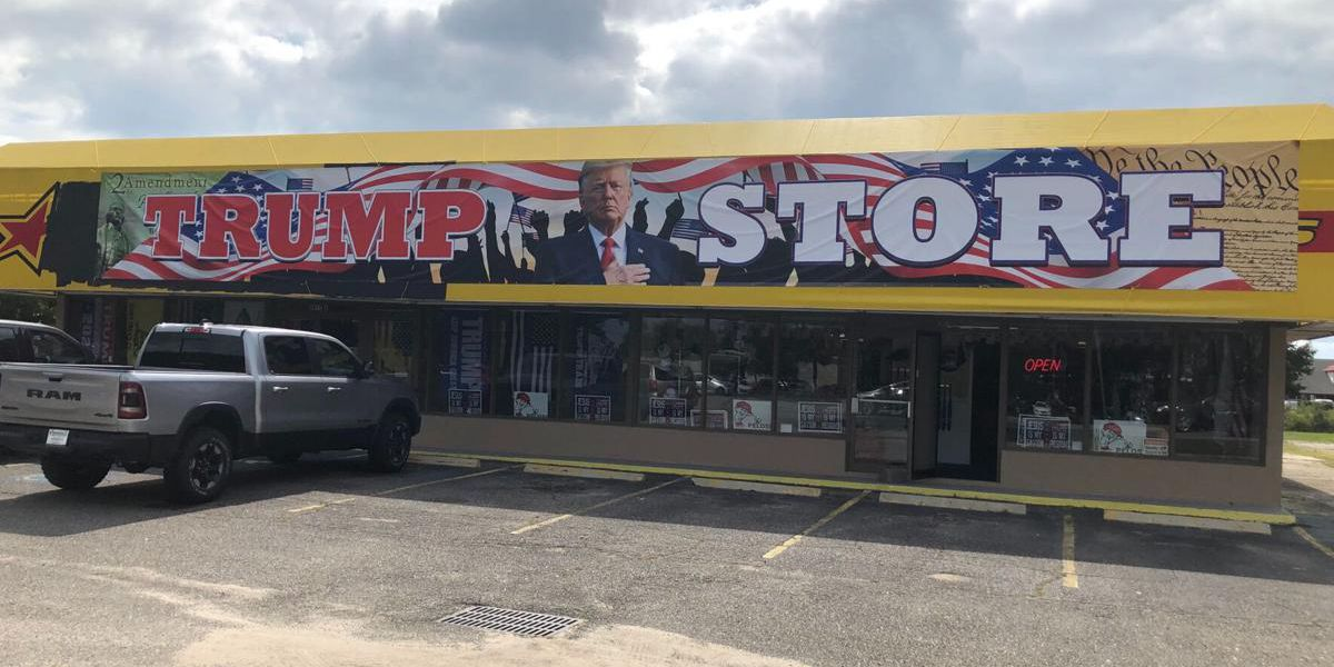 The Trump Store opens in Myrtle Beach and Conway