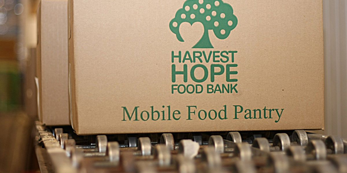 Harvest Hope Food Bank accepting donations