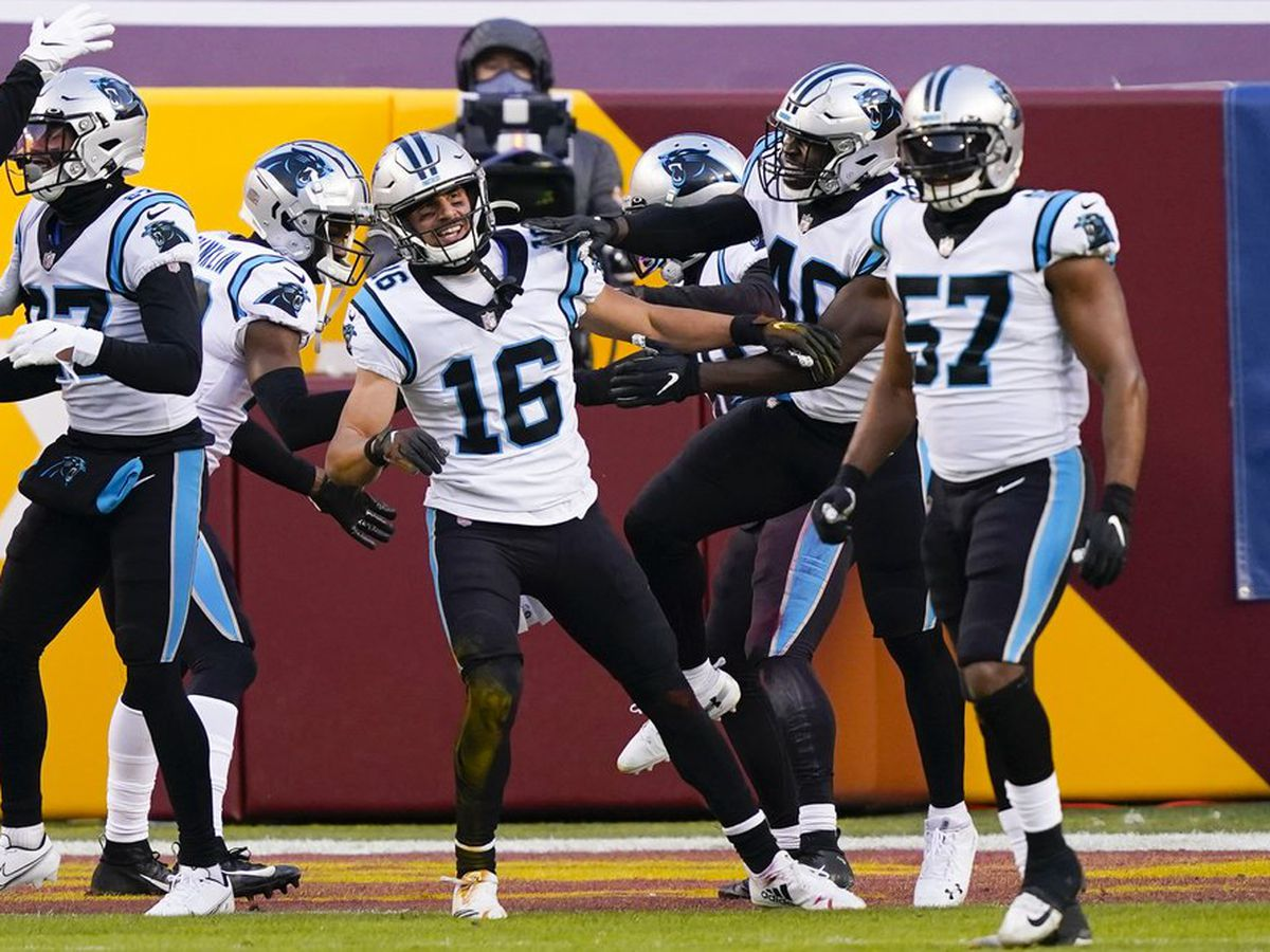 Washington beaten by Panthers, fails to clinch NFC East