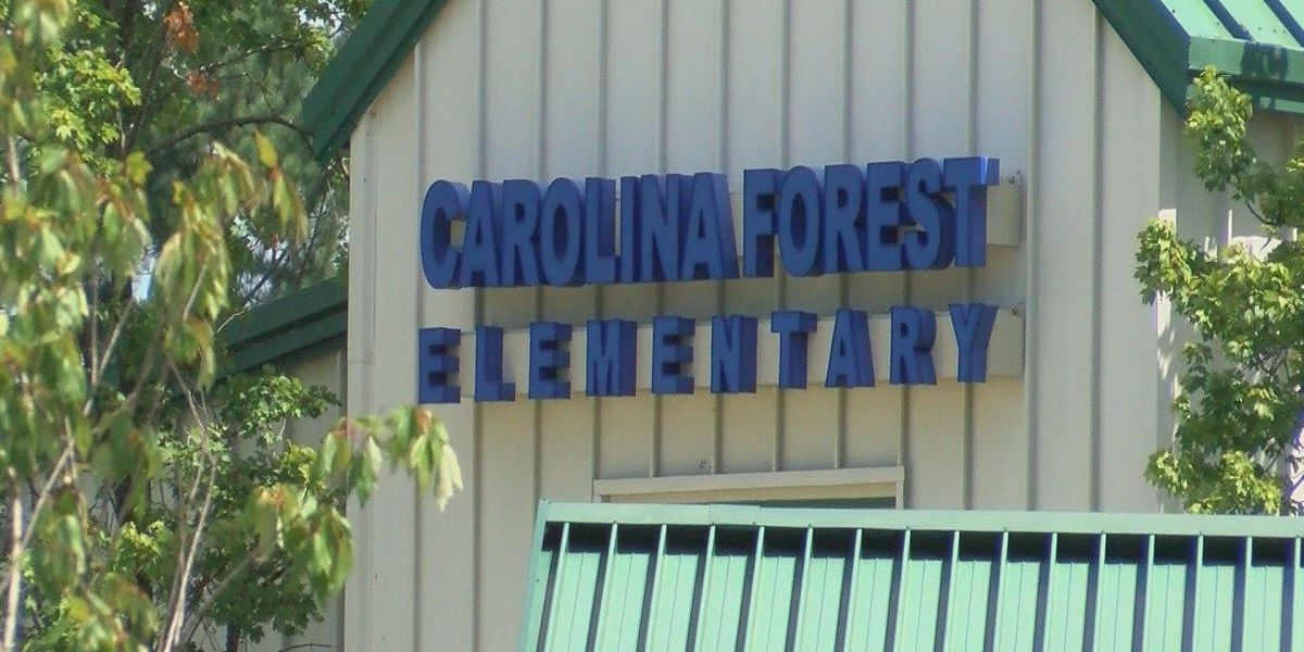 Carolina Forest Elementary School leaders have traffic concerns