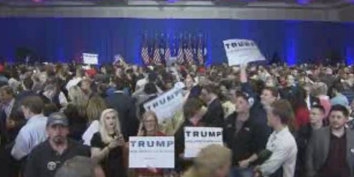 WATCH LIVE: Trump gives victory speech in Spartanburg