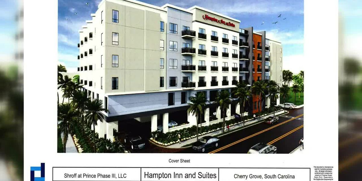 Property owner considering new hotel near Cherry Grove Pier