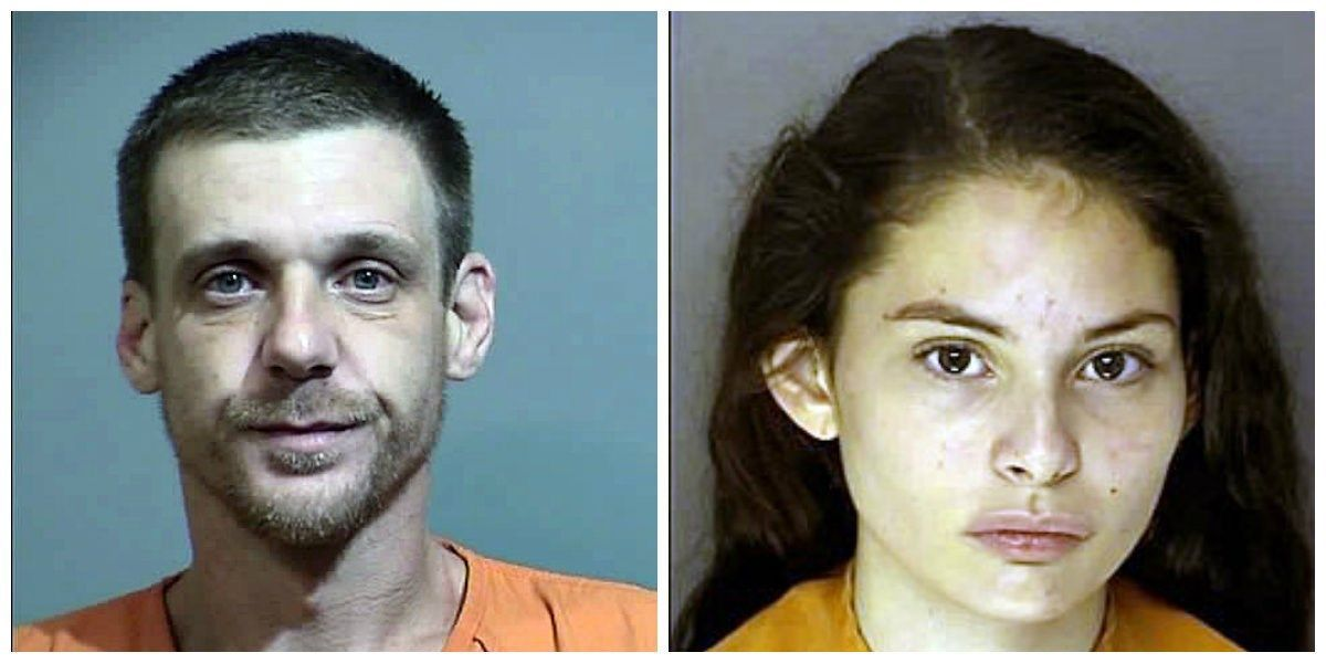 2 arrested after victim reports being struck in head with hammer, robbed
