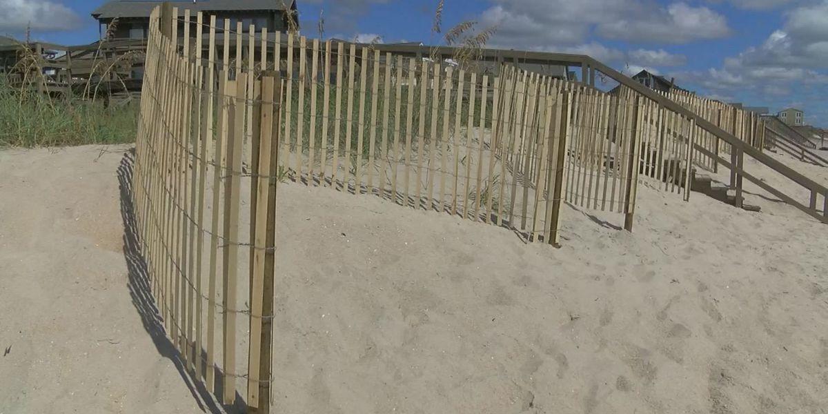Beach erosion a concern as Hermine approaches