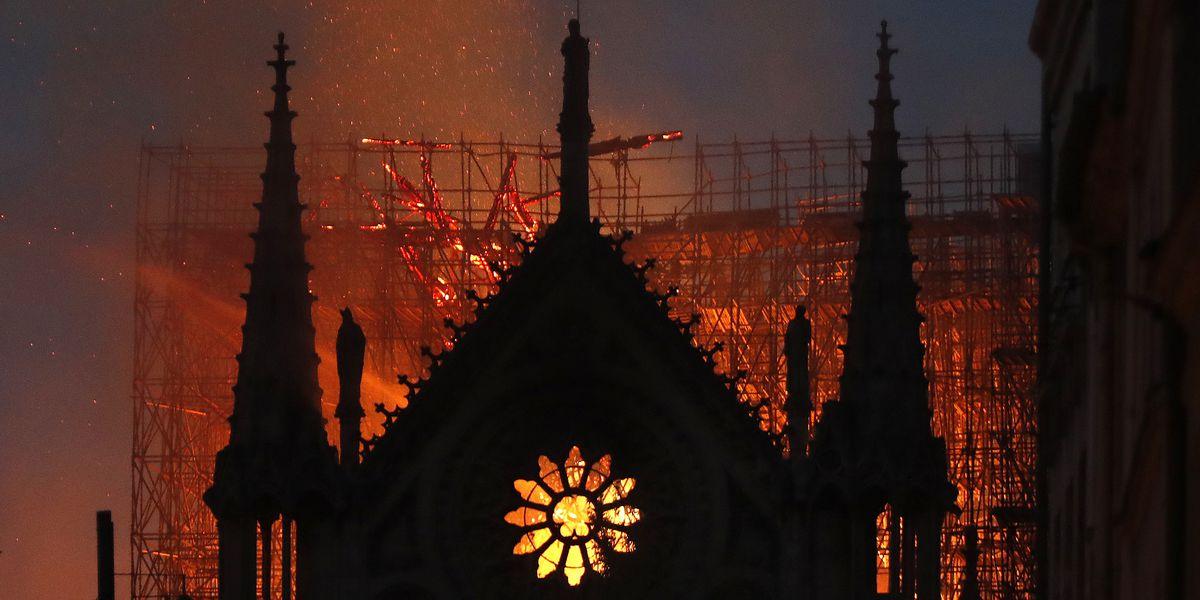 France vows to rebuild after devastating fire at Notre Dame