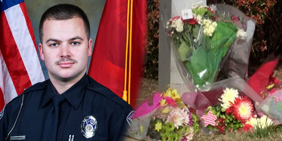 'We're a better community': Fallen Mount Holly Police Officer Tyler Herndon laid to rest