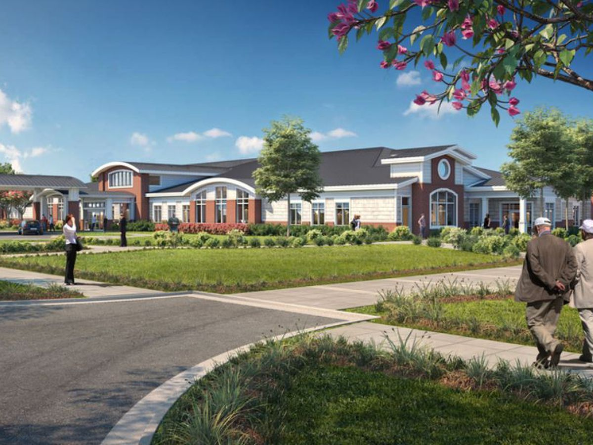Construction underway for new veterans nursing home in Florence
