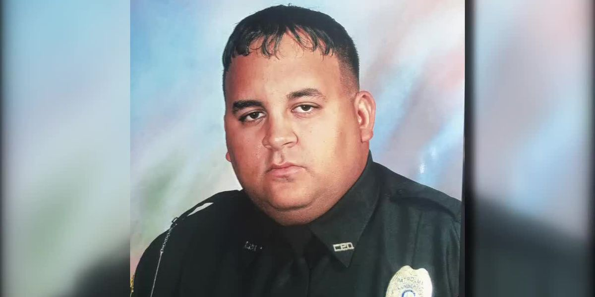 Department remembers Lumberton officer