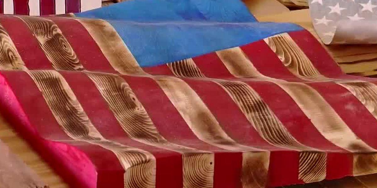 WMBF SALUTES: Marine veteran creates woodworking business during pandemic