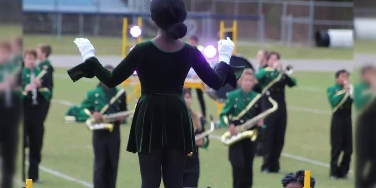 Myrtle Beach High senior drum major feels 'a sense of pride'