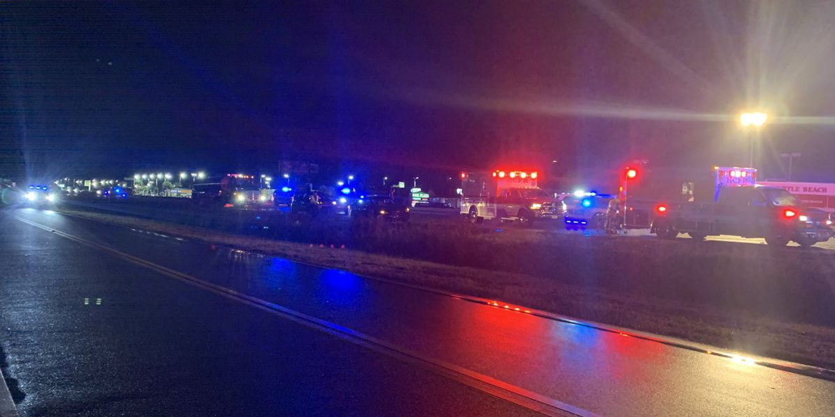 One killed in overnight accident on Hwy 17 in Myrtle Beach