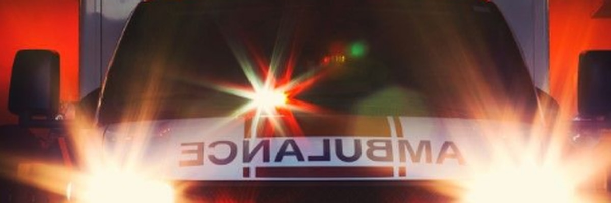 Pedestrian sent to hospital after being hit by car