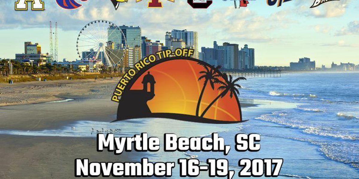 Puerto Rico Tip-Off men's basketball tournament potentially relocated to Coastal Carolina University