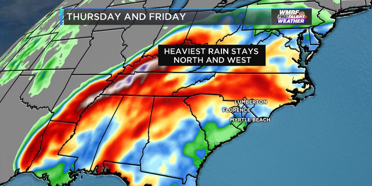 FIRST ALERT: Showers at times to finish the week