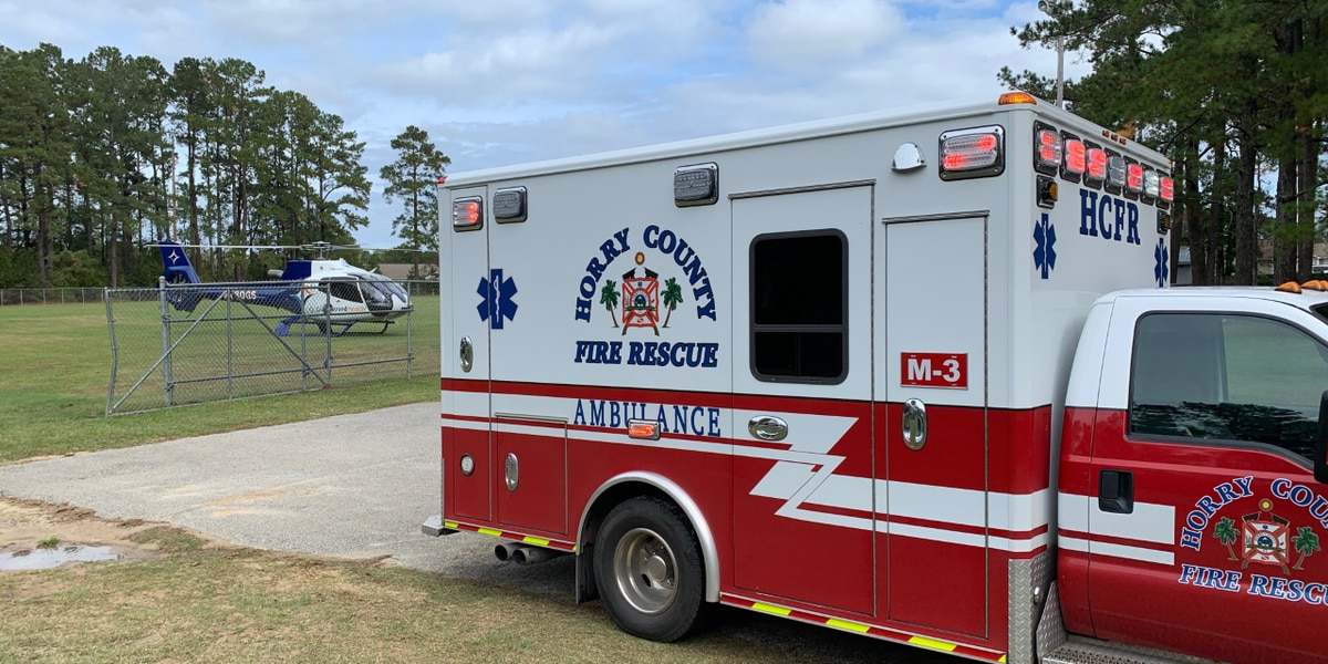 Go-cart driver airlifted to hospital after crashing in Conway area