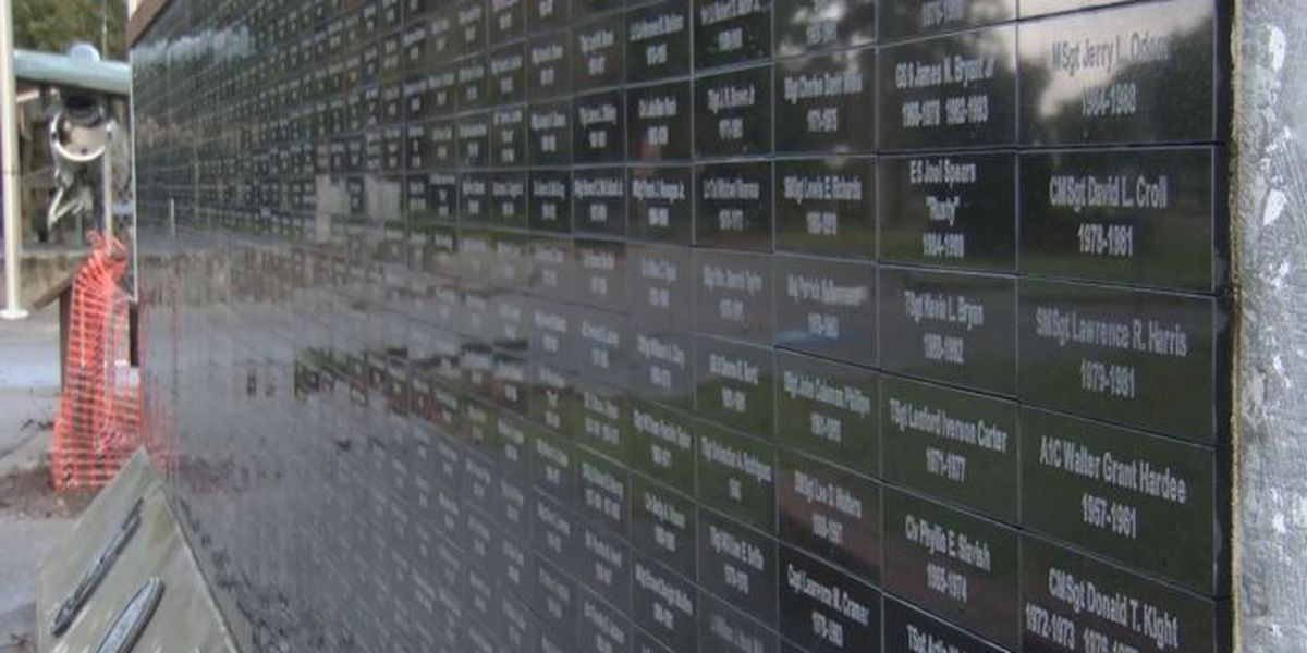 Myrtle Beach adding to the Wall of Service at Warbird Park