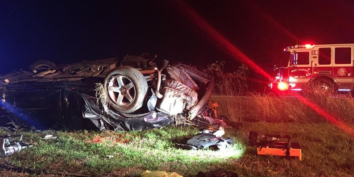UPDATE: Driver charged in deadly Florence County wreck