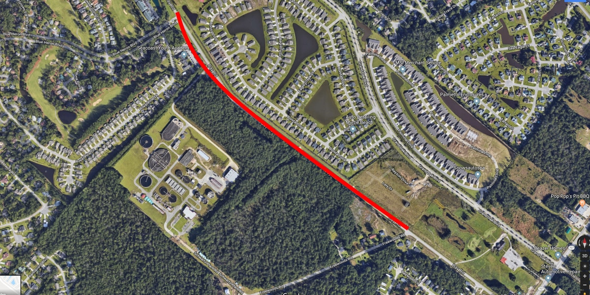 Crews to close heavily traveled section of Bay Road on Tuesday