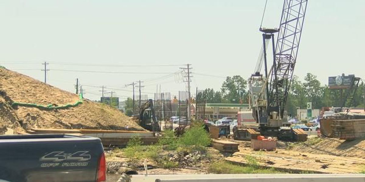 Officials explain lane switch in Glenns Bay interchange project