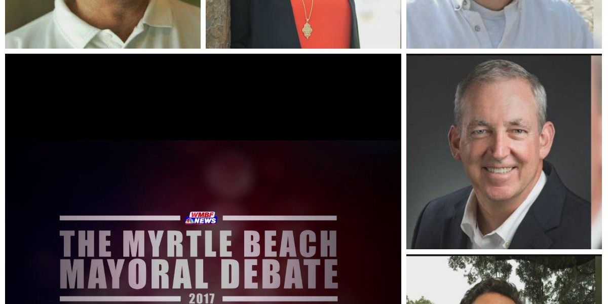 Myrtle Beach Mayoral Debate to take place on WMBF News tonight