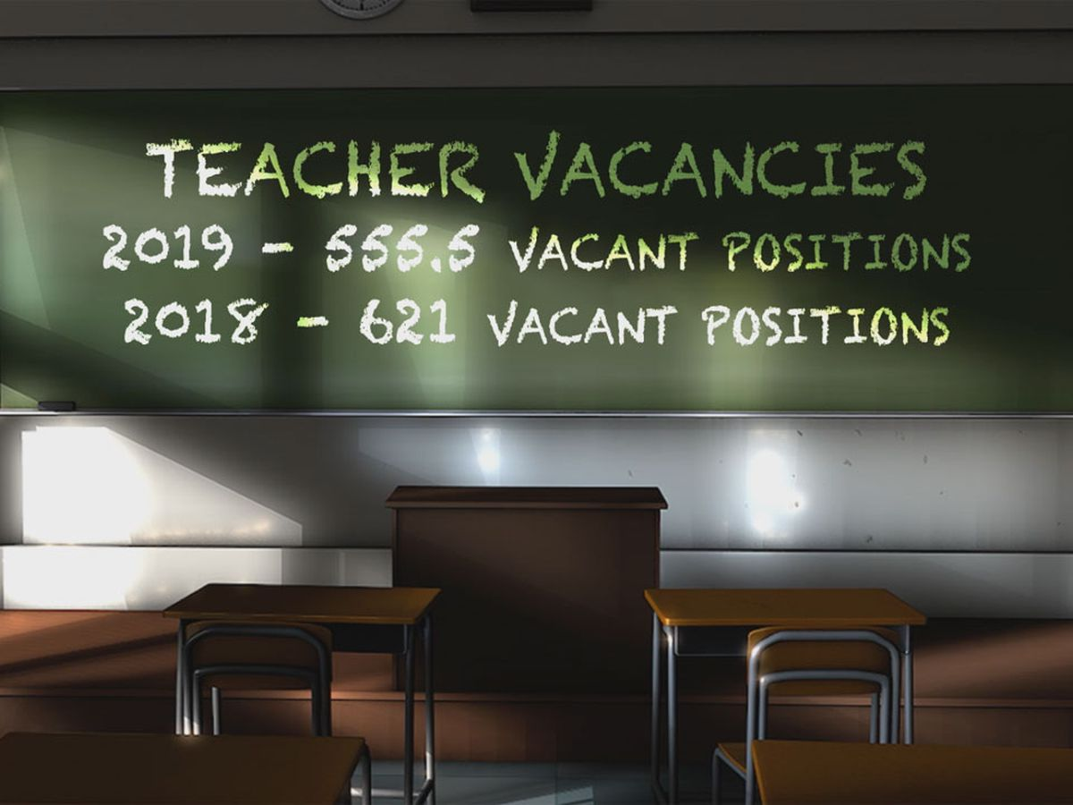 New report shows less public school teachers left their positions compared to last year