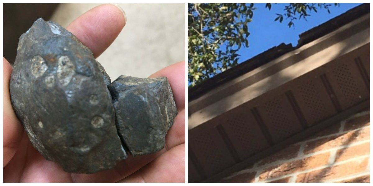 Pawleys Island woman finds meteorite in her yard after striking home