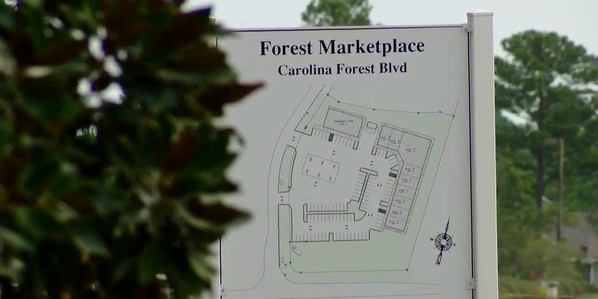 Forest Marketplace Strip Mall
