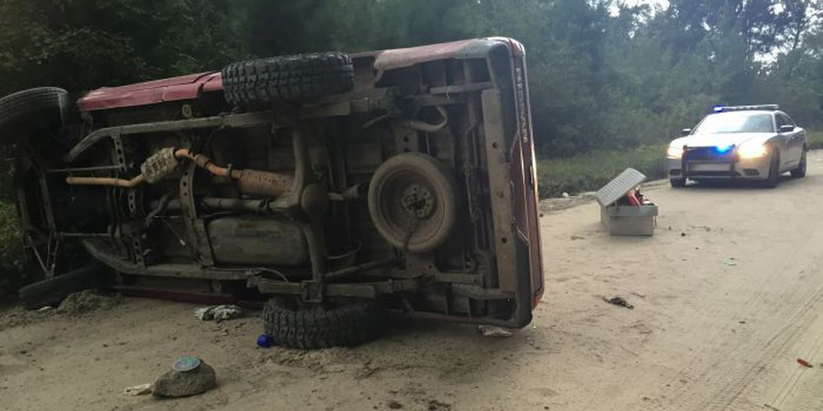 Two people transported to Grand Strand Medical Center following accident on Punch Bowl Road