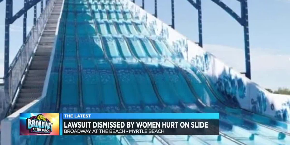 Women dismiss lawsuit filed after injury on Broadway at the Beach slide