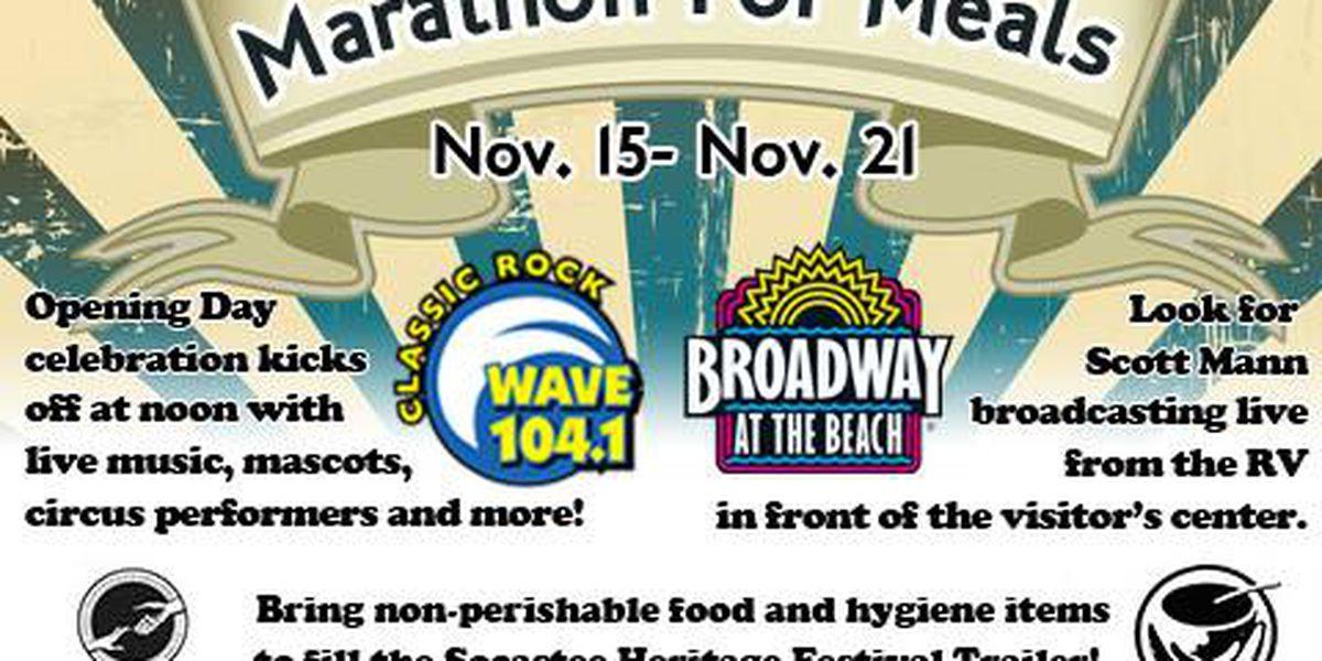 Radio station celebrates annual Marathon for Meals